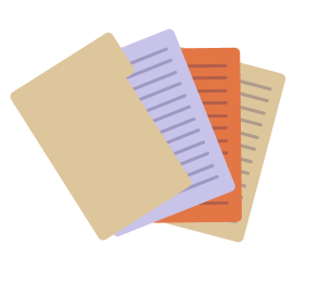 Folder with 3 Documents
